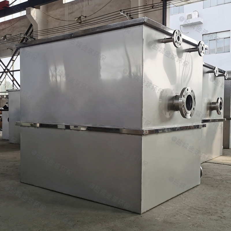 武威三级滤渣油污水分离器cad图纸