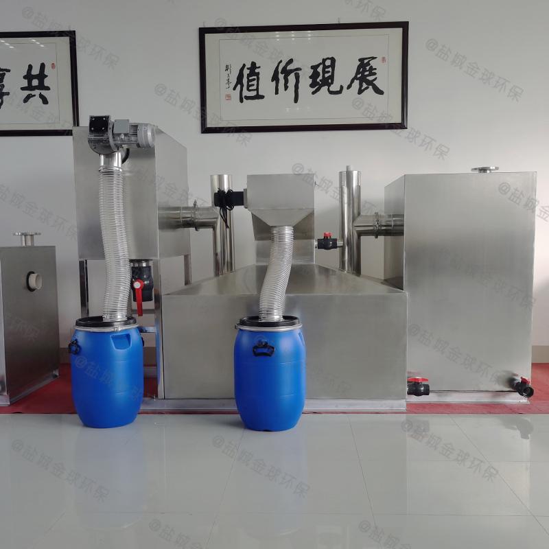 嘉峪关全自动隔油器结构