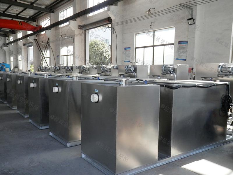 定西火锅专用隔油器施工方案