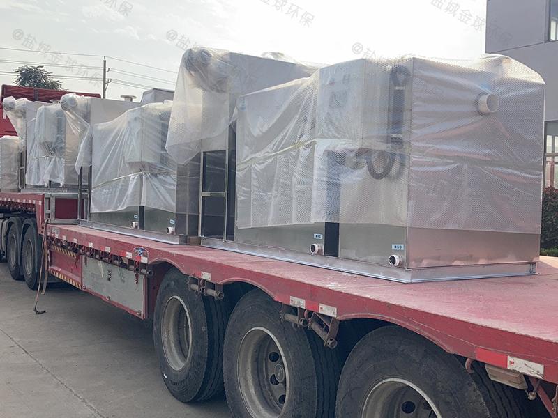 天水400人处理量隔油提升设备改造厂家