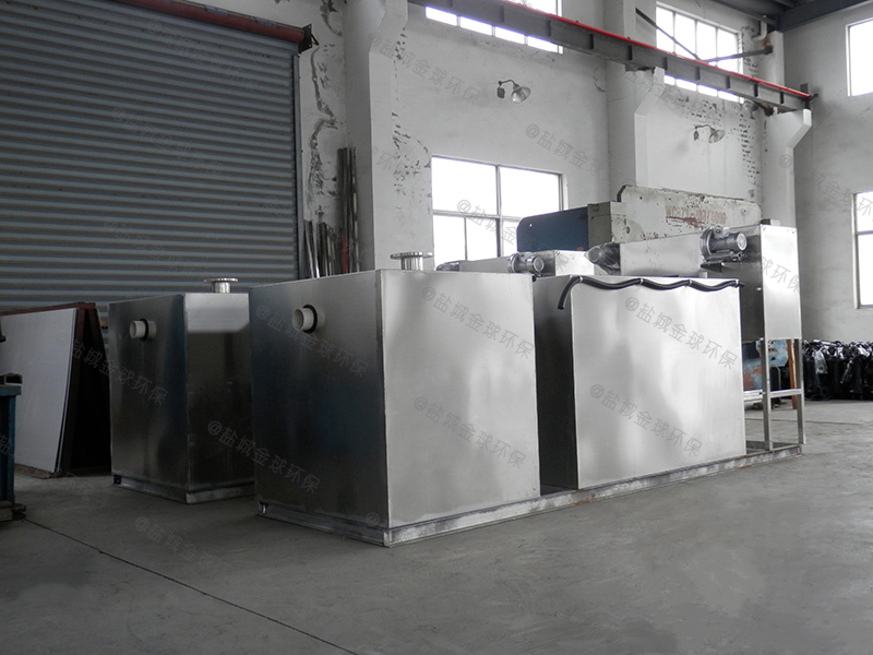 白银40吨长3000*宽1500*高1200隔油隔渣设备报价是多少