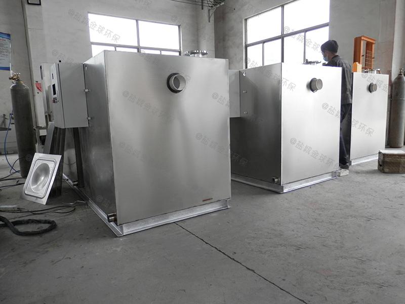 平凉40吨每秒隔油隔渣装置厨房厂家