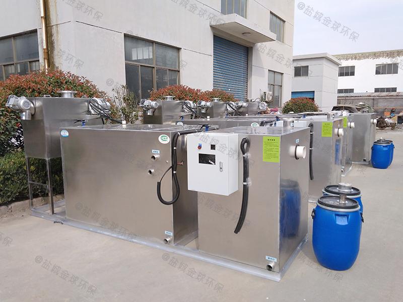 甘南自动隔油隔渣装置的原理图解
