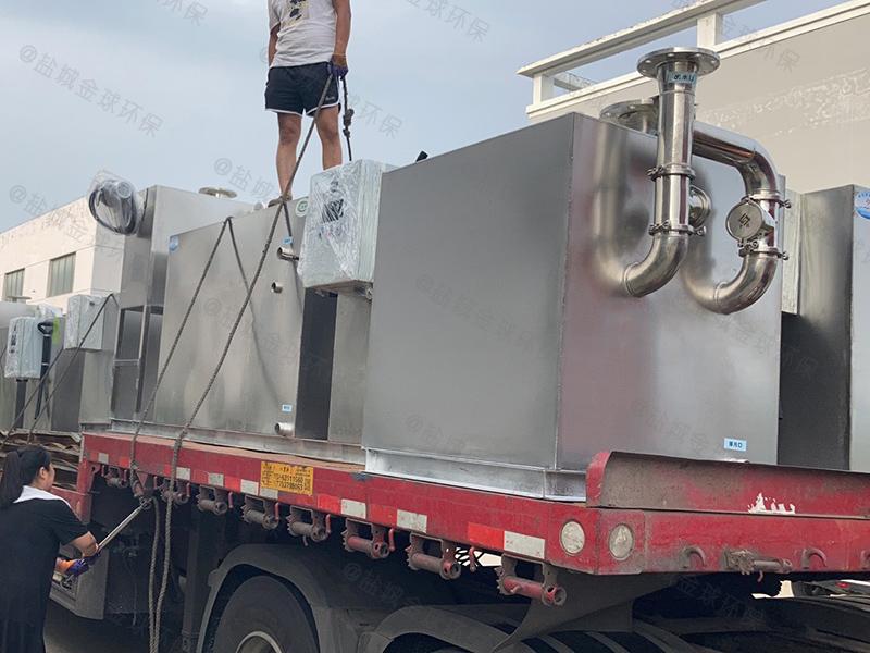 陇南5吨长1350*宽1000*高1200隔油提升设备放水教程